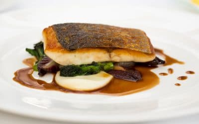 Sea-Bass-With-Shallots-purple-sprouting-red-chicory-3-400x250 Perception Loves