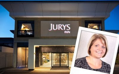An Eventful Year For Jurys Inns Sales Manager, Sharon