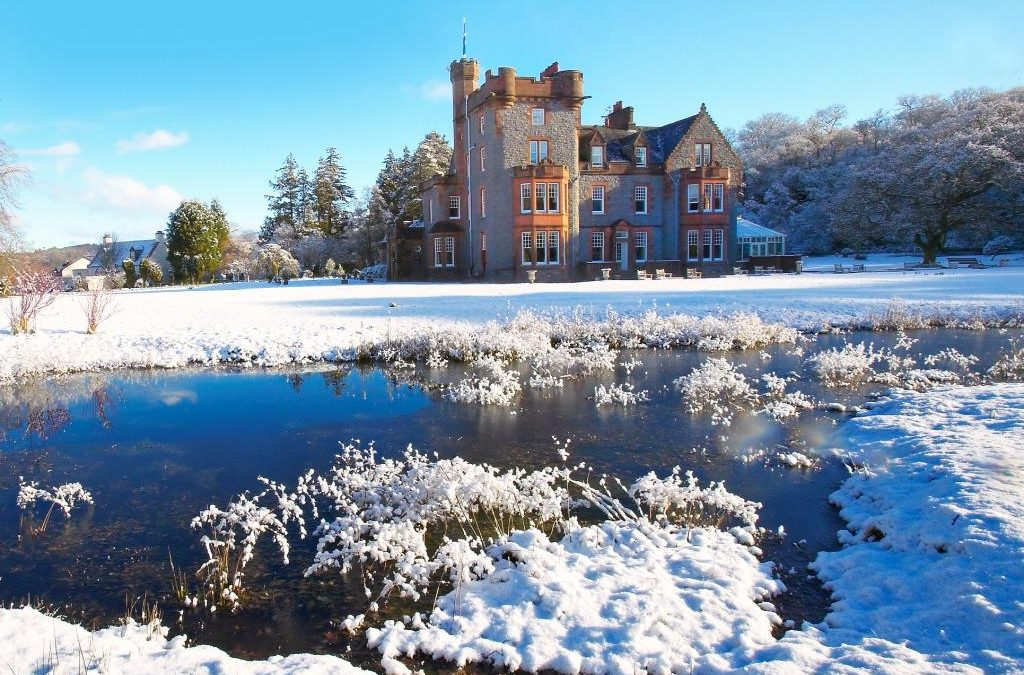 Christmas and New Year on The Isle of Eriska, Scotland