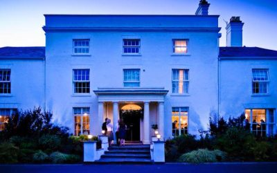 Night-Front-of-Hotel-400x250 Fishmore Hall, Shropshire