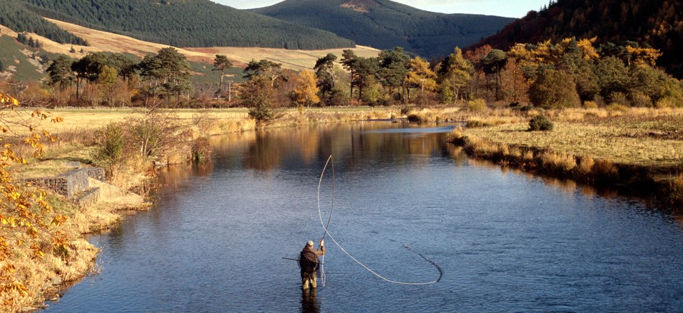First Class Fishing available at Scotland's Cringletie House