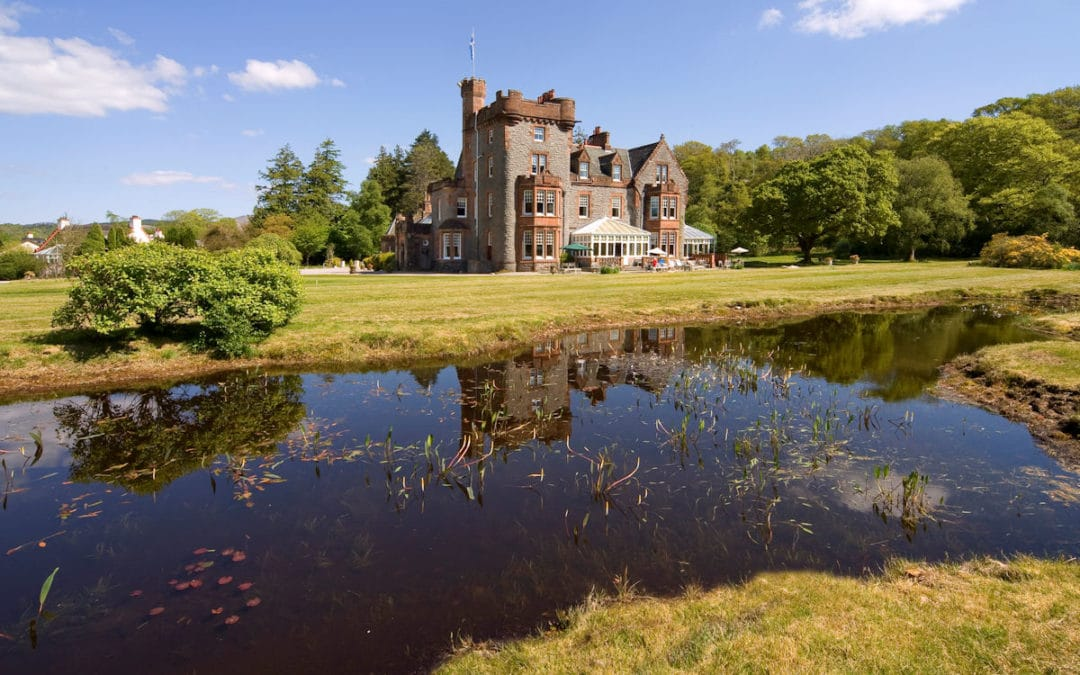 Perception Sales & Marketing PR News: Luxury Scotland welcomes The Isle of Eriska