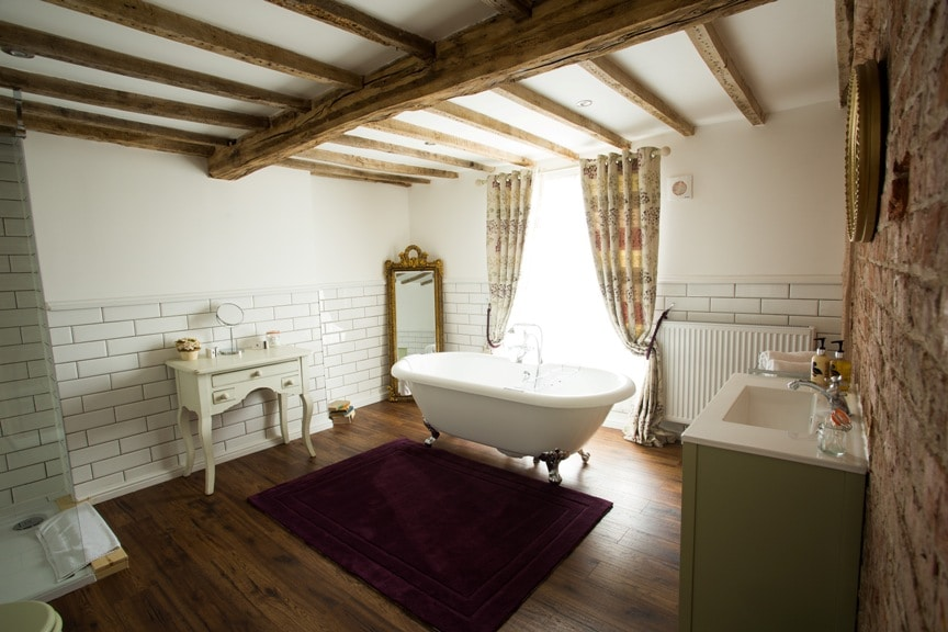 Bathroom The Vicarage, Cheshire