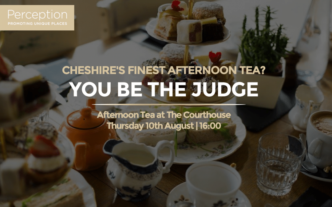The Best of Cheshire | Afternoon Tea at The Courthouse