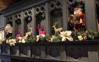 The-Vicarage-Christmas-mantelpiece-low-res-400x250 The Old Manse of Blair
