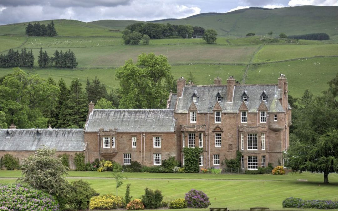 Book a Scottish Borders winter break at Cringletie House, Peebles