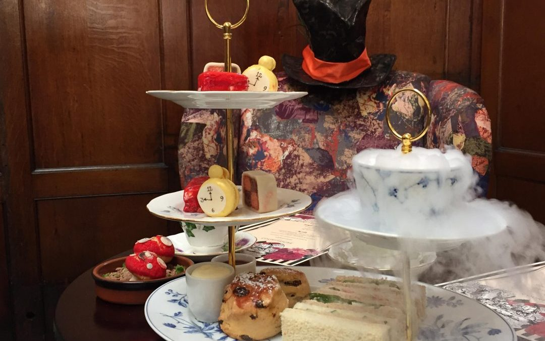 Dont be late for the Mad Hatters Afternoon Tea at The Courthouse, Cheshire