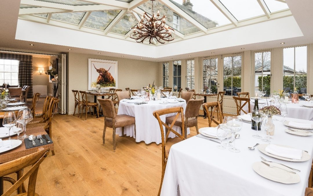 The Old Manse of Blair in Blair Atholl launches new restaurant, The Orangery
